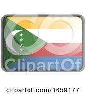 Vector Illustration Of Comoros Flag