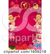 Poster, Art Print Of Wedding Or Valentines Day Background
