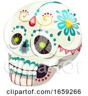 Poster, Art Print Of Dia De Los Muertos Mexican Design