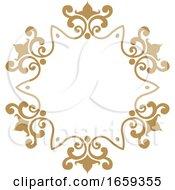 Gold Decorative Frame