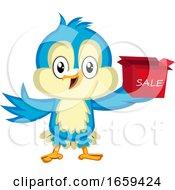 Blue Bird Is Holding Sale Box