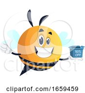 Yellow Smiling Bee Sale
