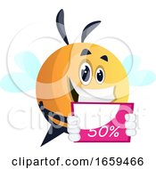 Bee Promoting A Sale
