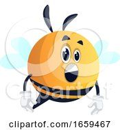 Surprised Bee
