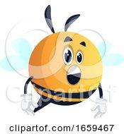 Surprised Bee