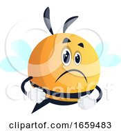 Sad And Upset Bee