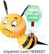 Bee Holding Sign Page Not Found