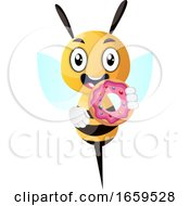 Bee With Dount