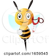 Bee Holding Catapult