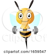 Bee Lifting Weight
