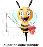 Bee As Fisherman