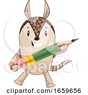 Armadillo With Pen by Morphart Creations