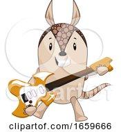 Armadillo Playing Guitar