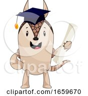 Armadillo With Diploma by Morphart Creations