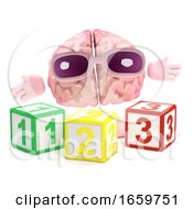 3d Brain Learns Math by Steve Young