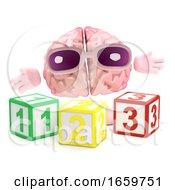 3d Brain Learns Math