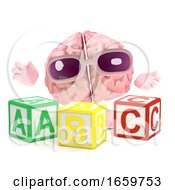3d Brain Learns The Alphabet by Steve Young