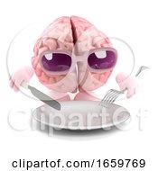 Poster, Art Print Of 3d Brain Food