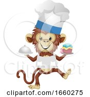 Monkey In Chef Suit