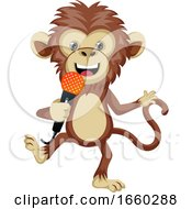 Monkey With Microphone