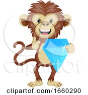 Monkey With Diamond