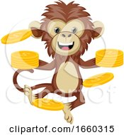 Monkey With Coins