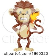 Monkey With Torch