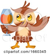 Owl With Drink