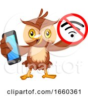 Owl With No Wifi Signal