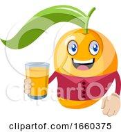 Mango With Orange Juice