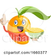 Mango With Snacks