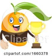 Mango Holding Trophy