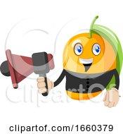 Mango With Megaphone