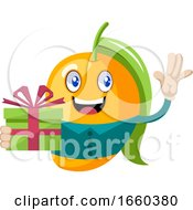 Mango With Birthday Present