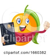 Mango With Credit Card