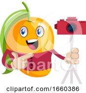 Mango With Camera