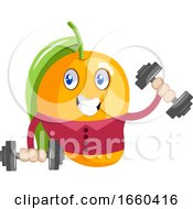 Mango Workout With Weights