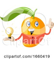 Mango With Light Bulb