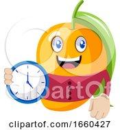 Mango With Clock