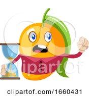 Mango With Sand Watch