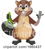 Beaver With Sling Shoot