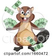 Beaver With Money
