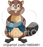 Beaver With Gamepad