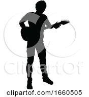 Musician Guitarist Silhouette