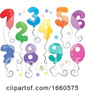 Balloon Numbers And Stars