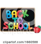 Poster, Art Print Of Back To School Blackboard