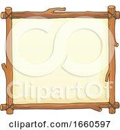 Wooden Frame Sign Border