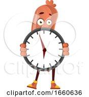 Sausage With Clock