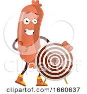 Poster, Art Print Of Sausage With Target