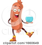 Poster, Art Print Of Sausage With Tube